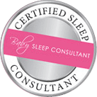 Badge: Certified Baby Sleep Consultant